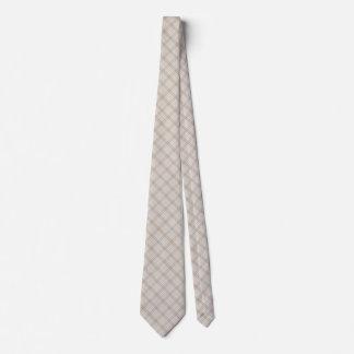 Corbata Lazo poner crema gris beige neutral de la tela