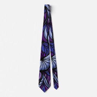 Corbata Lazo púrpura abstracto del modelo del ala de la