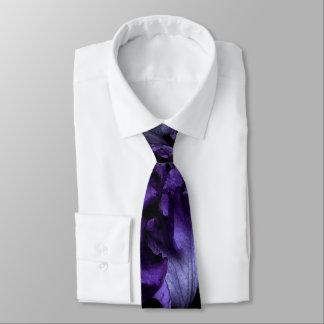 Corbata Lazo regular del iris púrpura