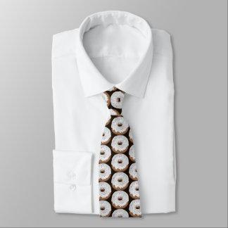 Corbata Lazo tejado buñuelo helado vainilla asperjado de