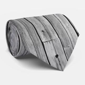 Corbata - madera resistida del granero
