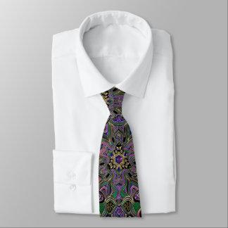 Corbata Mandala metálica de la armadura del caballero