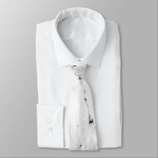 Corbata Mármol blanco y negro