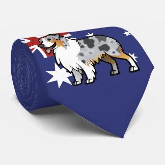 Corbata Mascota adaptable lindo en bandera de país