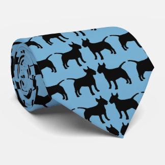 Corbata Mis dos perros de los terrieres de Bull