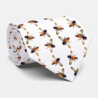 Corbata Modelo de la abeja de la miel