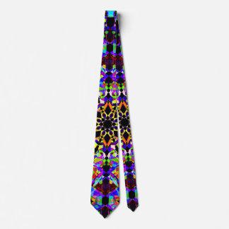 Corbata Mosaico colorido