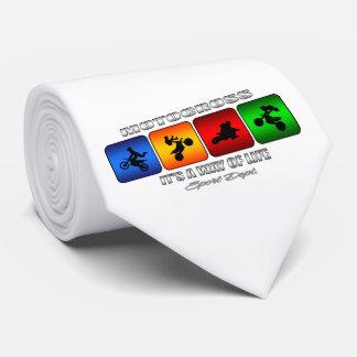 Corbata Motocrós fresco es una manera de vida