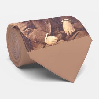 Corbata Muchacho del Victorian con estilo de pelo