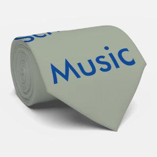 Corbata, música de la escuela vieja corbatas personalizadas