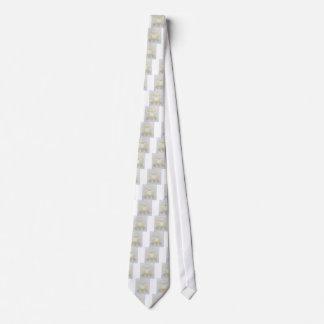 Corbata Ovejas lanosas blancas para la oveja