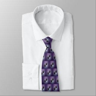 Corbata Patas púrpuras del perro
