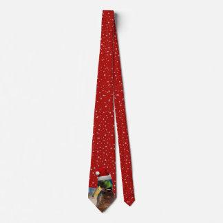 Corbata Pato divertido de Santa del navidad