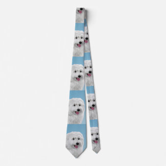 Corbata Perro pastor polaco de la tierra baja