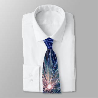 Corbata Personalizada 4to de los fuegos artificiales de julio en Día de
