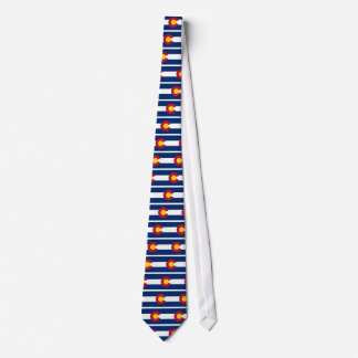 Corbata Personalizada Bandera de Colorado