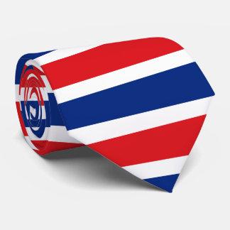 Corbata Personalizada Bandera de Tailandia