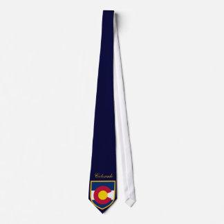 Corbata Personalizada Bandera hermosa de Colorado