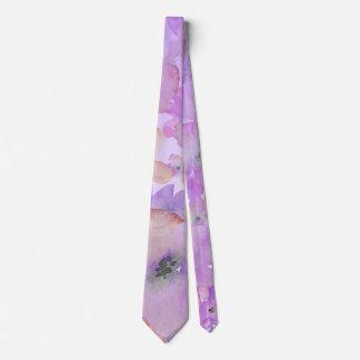 Corbata Personalizada Belleza floral apacible de la acuarela del *~*