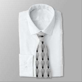 Corbata Personalizada Bombilla del arte pop
