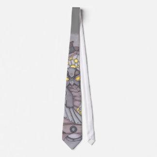 Corbata Personalizada Búho de Steampunk