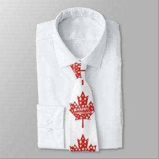 Corbata Personalizada Celebración del día de Canadá