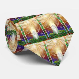Corbata Personalizada Celebre el calor del Yule Sun