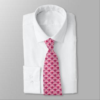 Corbata Personalizada Conchas de peregrino de Deco, vino de Borgoña y