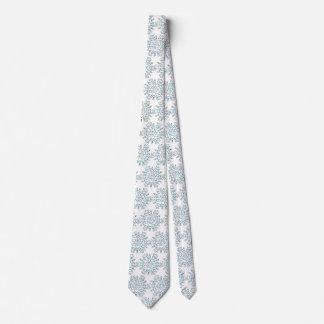 Corbata Personalizada Copos de nieve lindos del navidad, ventisca de la