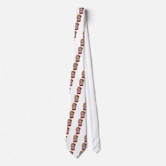 Corbata Personalizada Cráneo del azúcar del superventas