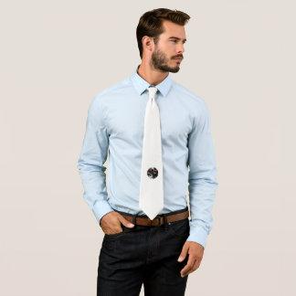 Corbata Personalizada Cree su propio lazo blanco de la foto de encargo