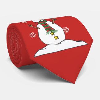 Corbata Personalizada Dejáis le nevar - muñeco de nieve - lazo