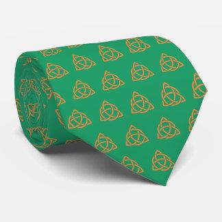 Corbata Personalizada Día irlandés de Patricks del Celtic de Triquetra