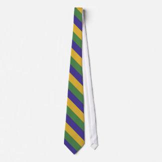 Corbata Personalizada Diagonal del carnaval del OPUS rayada