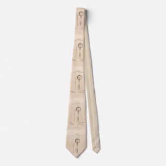 Corbata Personalizada Diagrama esquemático para patente de la bombilla
