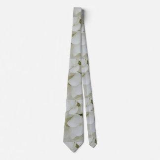 Corbata Personalizada El Hydrangea florece el flor elegante blanco