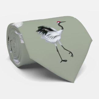Corbata Personalizada El japonés Cranes el lazo de los hombres
