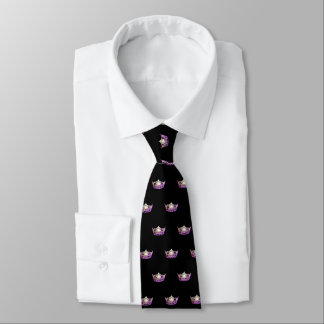 Corbata Personalizada El lazo de los hombres de la corona de la orquídea