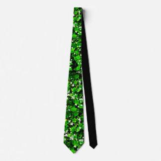 Corbata Personalizada El verde del amante de Narture se va y el lazo de
