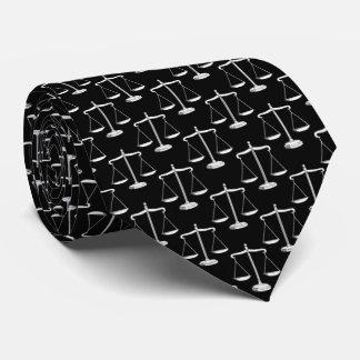 Corbata Personalizada Escalas con clase de la ley del modelo el   de la