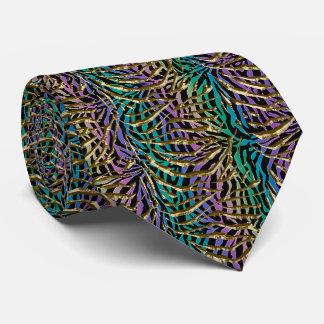 Corbata Personalizada Estampado de animales exótico de la fantasía