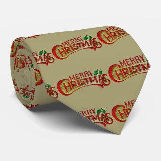 Corbata Personalizada Felices Navidad