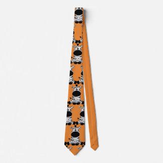 Corbata Personalizada Fiesta lindo de las cebras del personalizar