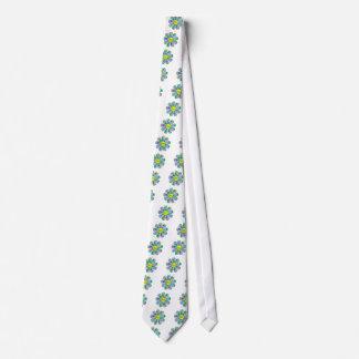 Corbata Personalizada Flower power feliz