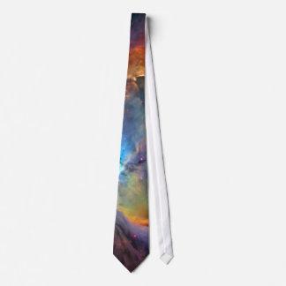Corbata Personalizada Galaxia del espacio de la nebulosa de Orión
