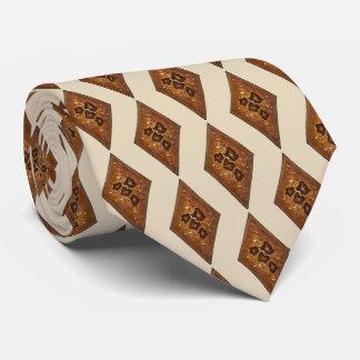 Corbata Personalizada Galleta agria del navidad de la arena del canela