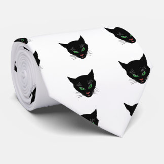 Corbata Personalizada Gato del vintage