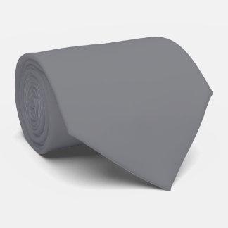 Corbata Personalizada Gris medio del OPUS 1111