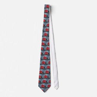 Corbata Personalizada Hoja de arce en el hielo