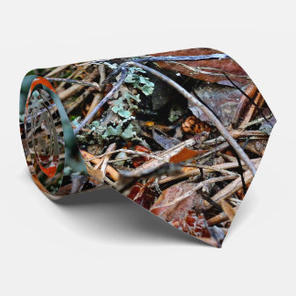 Corbata Personalizada Hongos solos de un agárico
